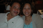 06/28/06 RCL's Sovereign of the Seas, Bahamas - Rose Marie Toledo Virata '72 & husband Rudy