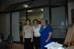 06/24/06 Orlando, FL - Abigail Sacuy-ap Roldan & Beth Donguines Cabacungan of Cl'82 with Rorie R. Rebortira'72