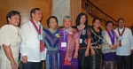 L-R: Ruth Raña Padilla'75, SLMC Board of Trustees Chair, Robert Fung Kuan, Dean Emeritus Ester Abellera Santos'47,