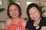 Shirley May Villa-Santiago '76 & Sally Hung-Uy '76